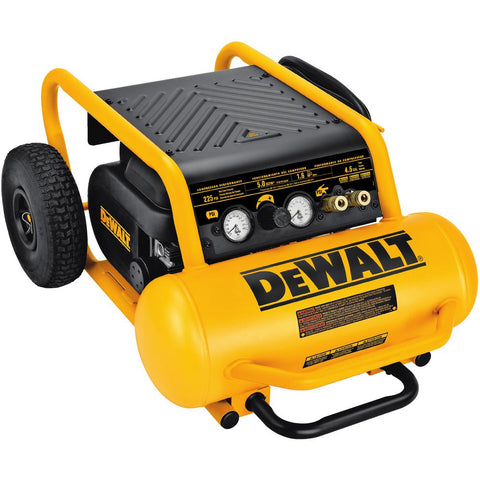 1.6 HP Continuous, 200 PSI, 4.5 Gallon Compressor - D55146