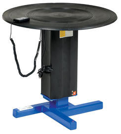 Vestil Turntables with Powered Height Adjustment