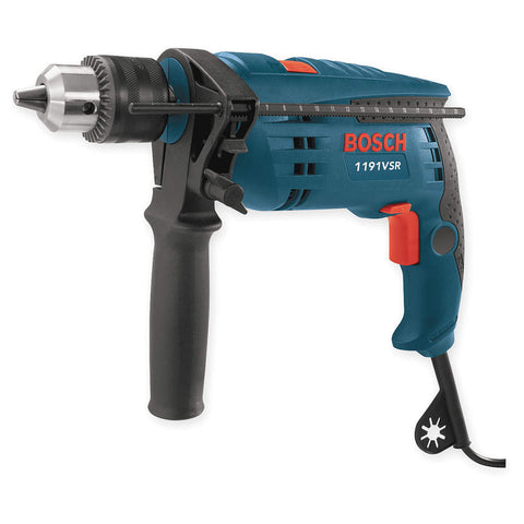 Bosch Hammer Drill Kit, 1/2 In, 9.2 A,