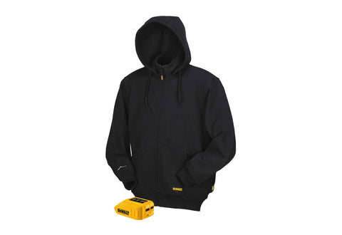 20V/12V MAX* Black Heated Hoodie (Hoodie and Adaptor Only) - DCHJ067B