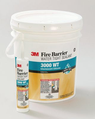 3M™ Fire Barrier Water Tight 3000 WT Silicone Sealant