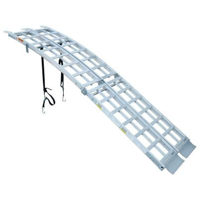 WERNER ALUMINUM FOLDING ARCHED RAMPS