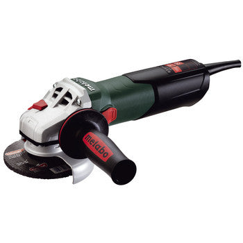 "Metabo Corded Angle Grinder 5"" - 11,000 RPM - 10.5 AMP w/Brake, Non-lock Paddle"