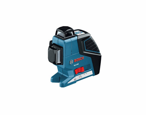 Bosch GLL 3-80 3 Plane Leveling Alignment Laser with BM1 Positioning Device