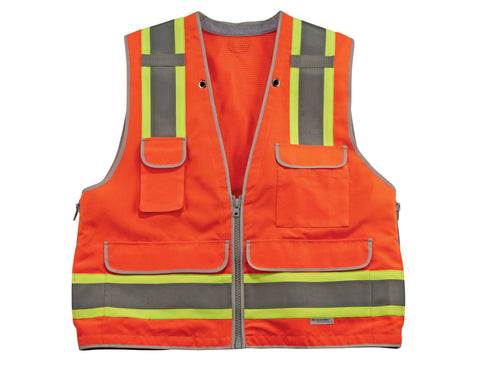 Ergodyne GloWear® 8254HDZ Class 2 Heavy Duty Surveyors Vest