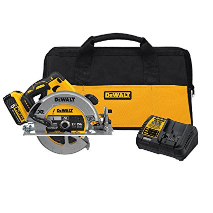 "20V MAX* 7-1/4"" Circular Saw Kit w/ 5.0 Ah Battery - DCS570P1"