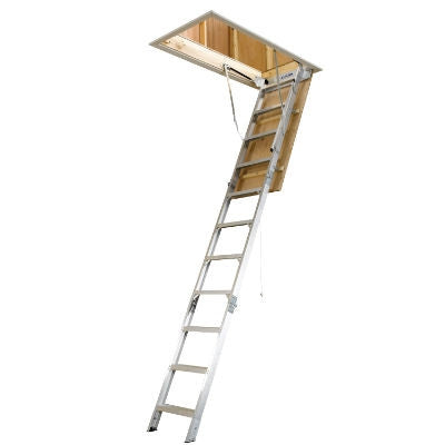 Werner Aluminum Folding Attic Ladder AH SERIES