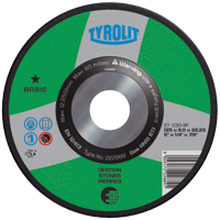 Tyrolit BASIC Depressed Center Wheel for General Purpose Use on Masonry