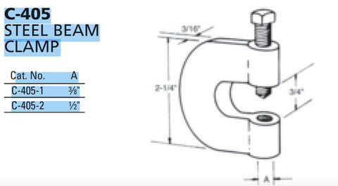 Multi-Strut® Beam Clamps