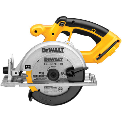 "6-1/2"" (165mm) 18V Cordless Circular Saw (Tool Only) - DC390B"