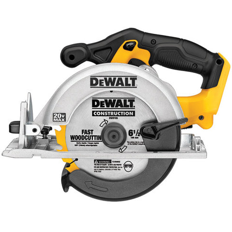 "20V MAX* 6-1/2"" Circular Saw (Tool Only) - DCS391B"
