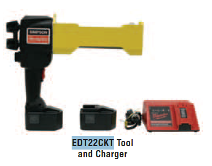 Simpson Strong Tie EDT22CKT Epoxy Adhesive Dispensing Tools