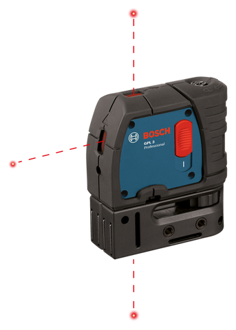 Bosch 3-Point Self-Leveling Alignment Laser - GPL 3