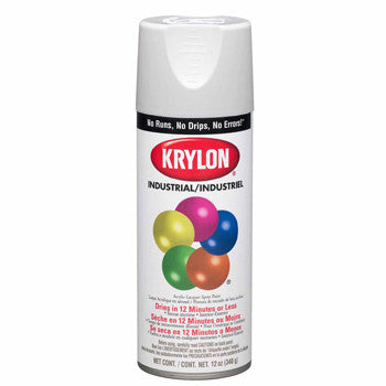 Krylon K01501 Gloss White (5-Ball) Interior-Exterior Paint