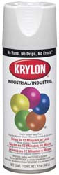 Krylon K01508 Semi-Gloss White (5-Ball) Interior-Exterior Paint