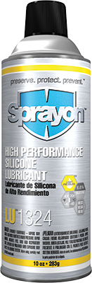 Sprayon LU1324 - High-Performance Silicone Lubricant - Aerosol