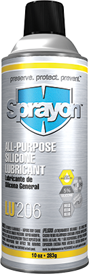 Sprayon LU206 - All-Purpose Silicone Lubricant - Aerosol