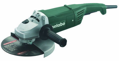 "Metabo 5"" Rat Tail Angle Grinder Lock-on slide switch"