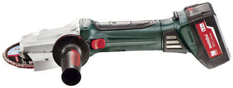 "Metabo Cordless 5"" 18V Flat Head Angle Ginder Bare"