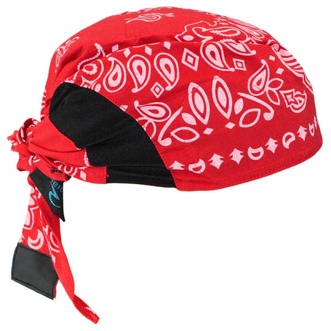 Arctic Radwear Cooling Head Shade - Red Paisley