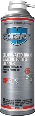 Sprayon SP709 - Chlorinated Brake & Parts Cleaner - Aerosol