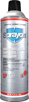 Sprayon SP859 - Industrial Insecticide - Hit Squad™ - Aerosol