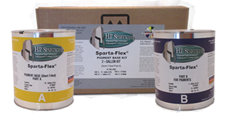 HP Spartacote- Sparta-Flex® Pigment Base 2 Gallon Kit