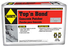 Sakrete - Top'n Bond®  Concrete Patcher