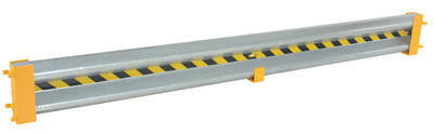 Vestil - Straight Guard Rail Drop In 10'