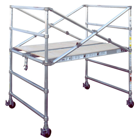 ALUMINUM SCAFFOLD NARROW SPAN TOWERS