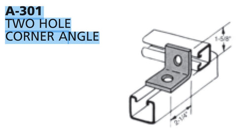 Multi-Strut® Fittings Angle Brackets
