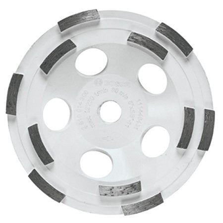 "Bosch Tools 5"" Double Row Segmented Diamond Cup Wheel - DC510H"