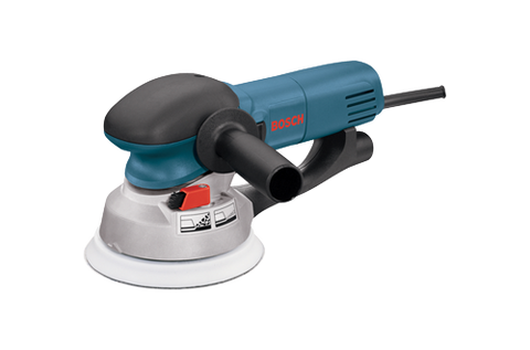 Bosch 6 In. Dual-Mode Electronic Random Orbit Sander/Polisher - 1250DEVS