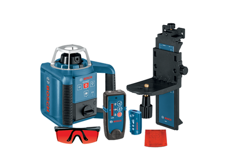 Bosch GRL300HVD - Self-Leveling Rotary Laser with Layout Beam Interior Kit