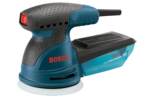 "Bosch ROS10 - 5"" Palm-Grip Random Orbit Sander"