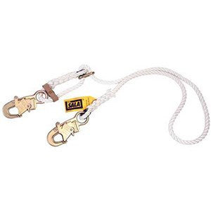 DBI/SALA 1232210 6 Foot Adjustable Rope Lanyard