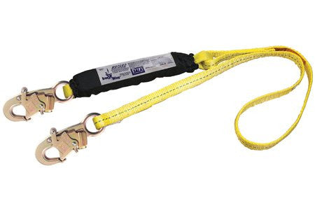 DBI/Sala 1245006 Force2 Shock Absorbing Web Lanyard