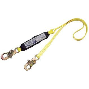 DBI/Sala 1245177 100% Tie-Off Force2 Shock Absorbing Web Lanyard