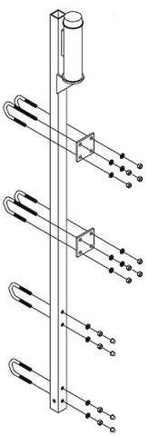 DBI - SALA 6116410 Lad-Saf™ Top Bracket for Fixed Ladder