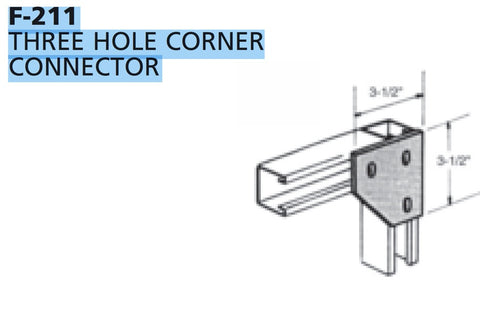 Multi-Strut® Fittings Flat Plate