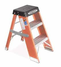Werner 2' Twin Step Stool T372MODEL