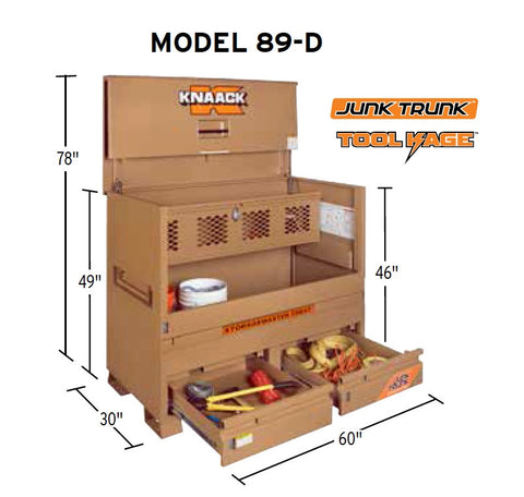 Knaack Model 89-D Piano Box