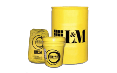 L&M CONCRETE LIQUID CHEMICAL HARDENERS AND DENSIFIERS