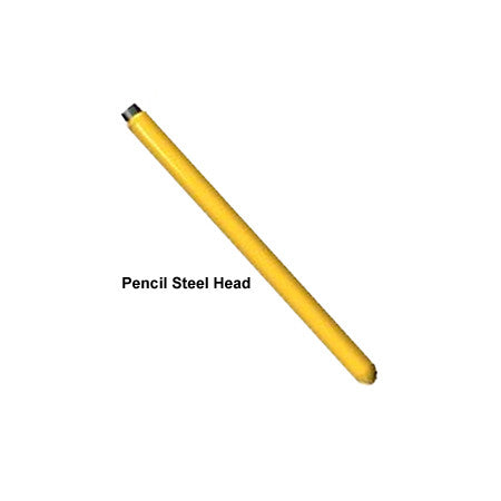 "Oztec 3/4"" x 12"" Steel Concrete Vibrator Pencil Head"