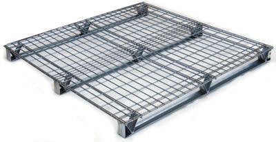 Vestil Galvanized Welded Wire Pallets