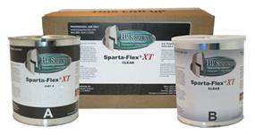 HP Spartacote- Sparta-Flex® XT™ Clear 2 Gallon Kit
