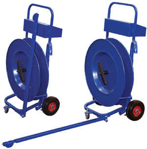 Vestil Manual Pallet Probe Strapping Cart