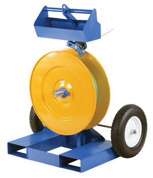 Vestil Industrial Duty Strapping Cart