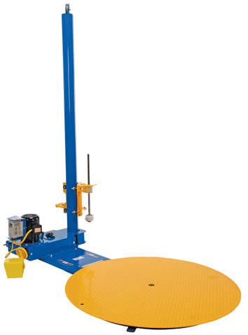 Vestil Powered Stretch Wrap Machines