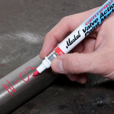 Markal- Certified Valve Action® Paint Marker